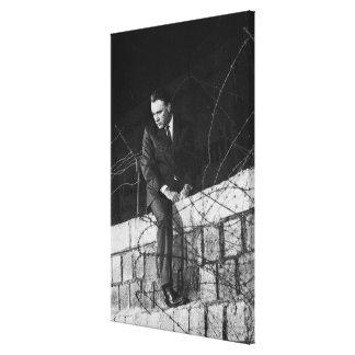 Porträtt av Richard Burton Canvastryck