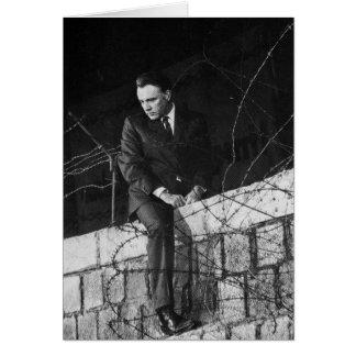 Porträtt av Richard Burton Hälsningskort
