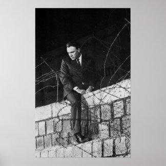 Porträtt av Richard Burton Poster