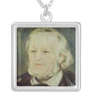 Porträtt av Richard Wagner, 1893 Silverpläterat Halsband