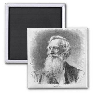 Porträtt av Samuel Morse Magnet