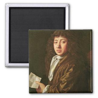 Porträtt av Samuel Pepys 1666 Magnet