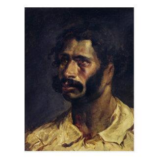 Porträtt av snickaren av 'Medusa'en Vykort