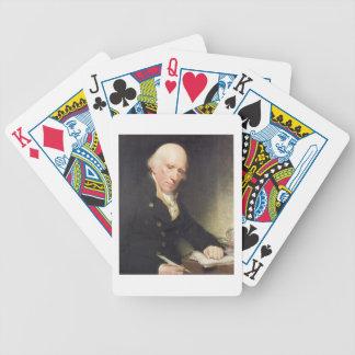 Porträtt av Warren Hastings (1732-1818) på hans De Spel Kort