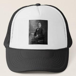 Porträtt för Booker T. Washington vid Harris & Truckerkeps