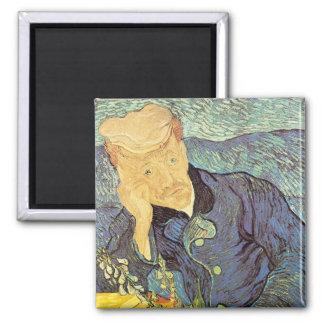 Porträtt för doktor Gachet av Vincent Van Gogh Magnet