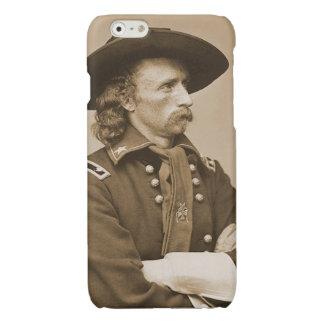 Porträtt för krig för George Custer vintage
