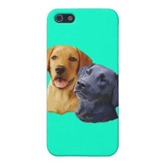 Porträtt för Labrador retriever iPhone 5 Fodral