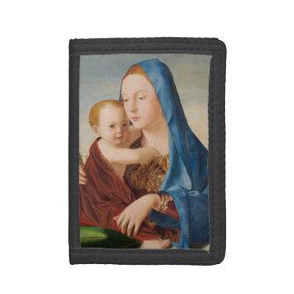 Porträtt Mary och baby Jesus
