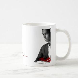 Porträtt och häftemugg kaffemugg