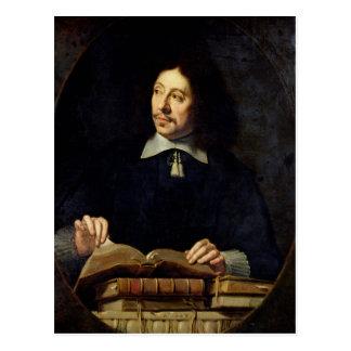 Porträtt som antas för att vara Etienne Delafons, Vykort