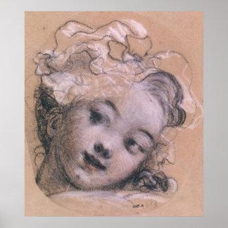 Porträtt som antas för att vara Rosalie Poster