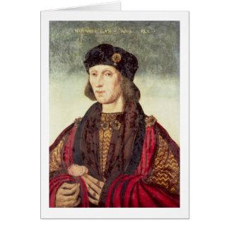 Porträtt T31778 av Henry VII (1457-1509) Hälsningskort
