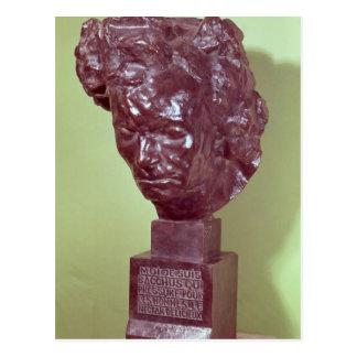 Porträttbyst av Ludwig Van Beethoven 1901 Vykort