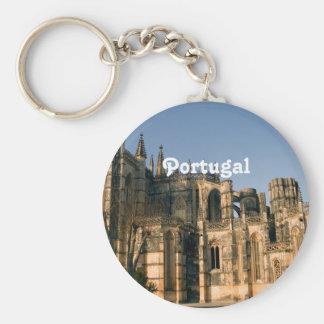 Portugal arkitektur rund nyckelring