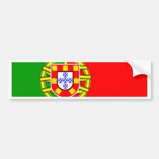 Portugal flagga bildekal