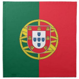 Portugal flagga på den MoJo servetten Servett