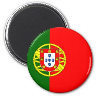 Portugal flaggamagnet magnet för kylskåp