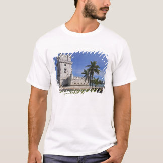 Portugal Lisbon. Belem torn, en UNESCO-värld 2 T-shirt