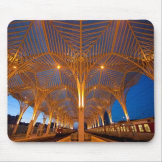 Portugal Lisbon. Beskåda av modern station Musmatta