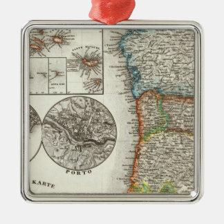 Portugal och Kap Verde öar Julgransprydnad Metall