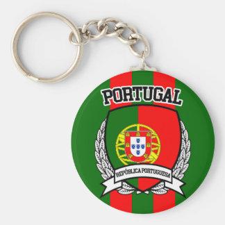 Portugal Rund Nyckelring