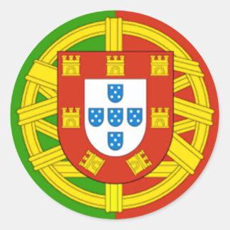 Portugal Runt Klistermärke