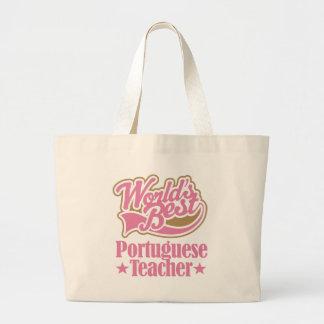 Portugisisk läraregåva (bäst världar) jumbo tygkasse