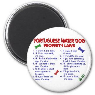 PORTUGISISKA lagar 2 för VATTENHUNDegendom Kylskåps Magneter