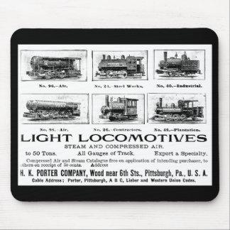 Portvakt för H K & Co.Light-lokomotiv Musmatta