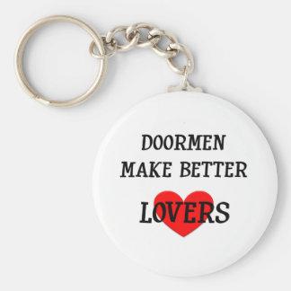 Portvakter gör bättre älskare rund nyckelring