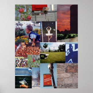 Positivt Roxbury affischtryck (1) Posters