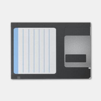 Posta-beställnings- diskett för färg post-it block