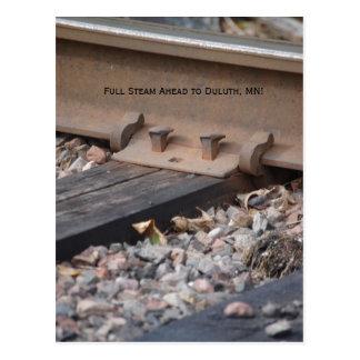 posta card2 007, full ånga framåt till Duluth, MN! Vykort