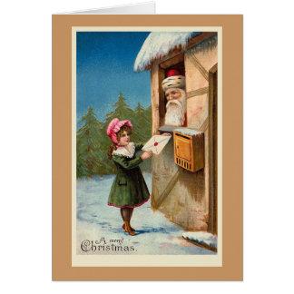"""""""Postar julen"""" julkortet Hälsningskort"""