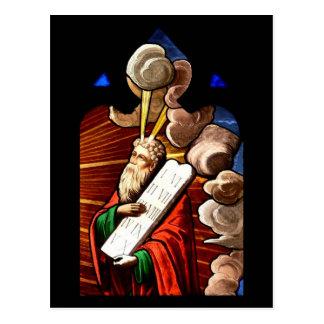 Postcard/Moses och de tio commandmentsna Vykort