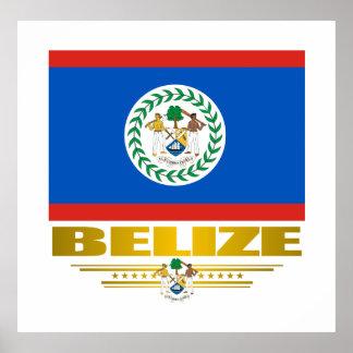"""Poster skrivar Belize pride ut"" & Poster"