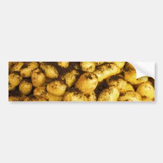 Potatisar på den Hakaniemi saluhallen Bildekal