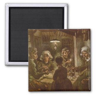 Potatiseatersna av Vincent Van Gogh Magnet