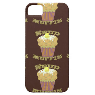 Potatismuffinmönster iPhone 5 Case-Mate Fodral