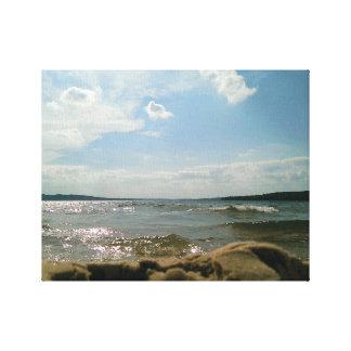 Pov-sjö Canvastryck