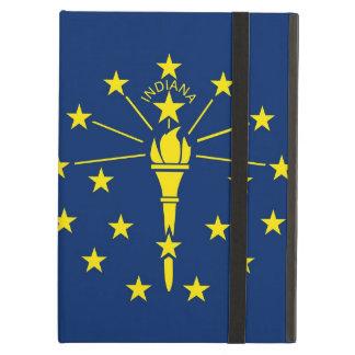 Powis Ipad fodral med den Indiana statlig flagga,
