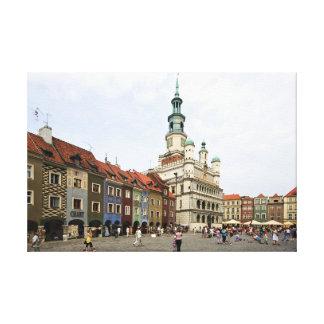 Poznań Polen Canvastryck