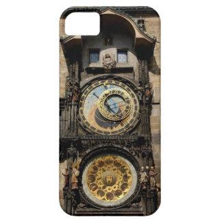 Prague den tjeckiska republiken tar tid på iPhone 5 hud