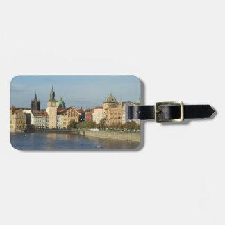 Prague skräddarsy bagagemärkren reselappar för väskor