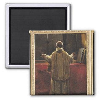 Präst på altaret magnet