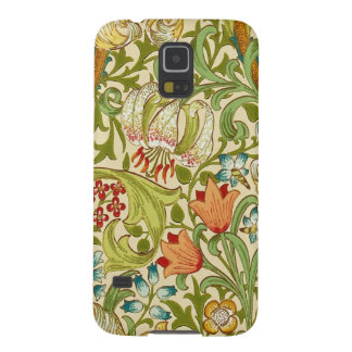 Pre-Raphaelite för William Morris guld- Galaxy S5 Fodral
