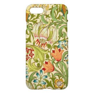 Pre-Raphaelite för William Morris guld- iPhone 7 Skal