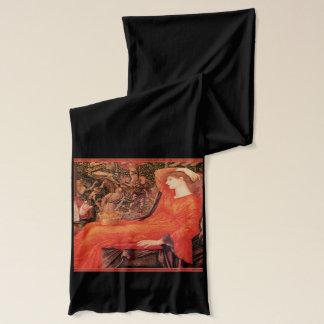 Pre Raphaelite målning Sjal