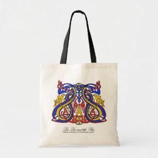 Pre Viking tri färg, shopping bag Tote Bags